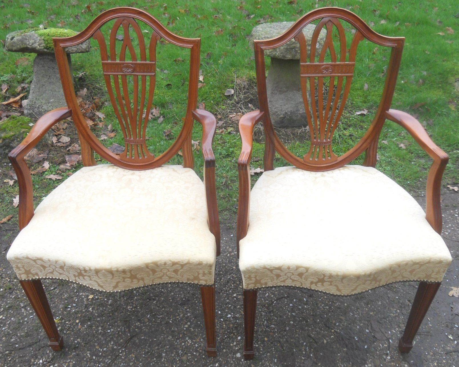William Tillman Set of Ten Mahogany Dining Chairs